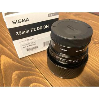 SIGMA - Sigma 35mm F2 DG DN Lマウント