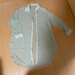 GU - GU シアーシャツ