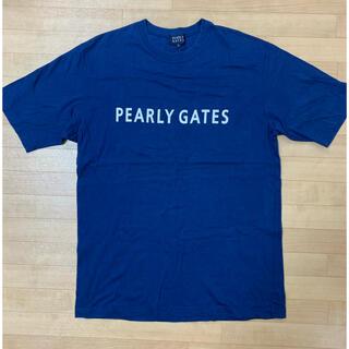 パーリーゲイツ(PEARLY GATES)のパーリーゲイツ Tシャツ XLくらい ネイビー(ウエア)