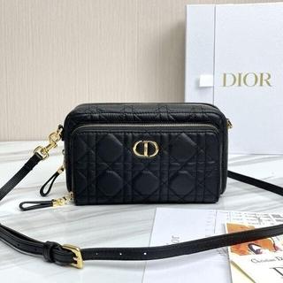 Christian Dior - DIOR CARO ダブルポーチ
