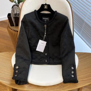 CHANEL - CHANEL ジャケット ロゴ ツイード 長袖 ポケット