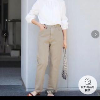IENA - 値下げ♦︎IENA カラーチノハイライズデニム【未使用】34