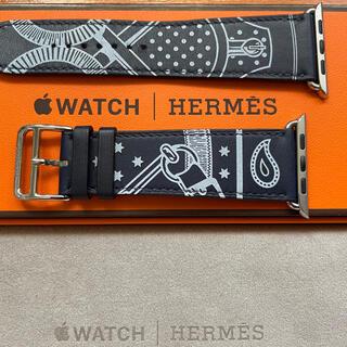 エルメス(Hermes)の超美品Apple watch HERMES レザーベルト42、44 ㍉(レザーベルト)