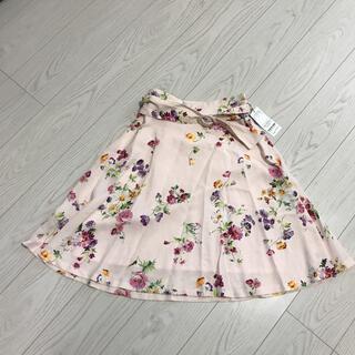 MISCH MASCH - 新品未使用タグ付フレアスカート花柄スカートmisch maschミッシュマッシュ