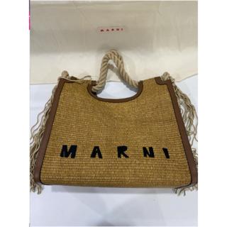 Marni - MARNI マルニ ラフィアバッグ カゴ トート