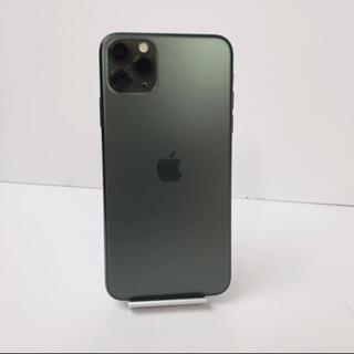 Apple - iphone11 pro max 64gb ミッドナイトグリーン