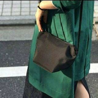 Herve Chapelier - 新品☆グリーンレーベル別注 エルベシャプリエ ビッグポシェット