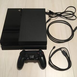 ps4本体 ブラック CUH-1000A(家庭用ゲーム機本体)