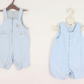 familiar - ファミリア familiar 80サイズ カバーオール 2点セット 子供服