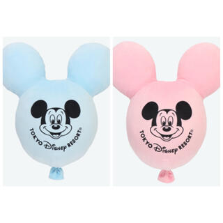 Disney - 【再販】ディズニーリゾート*バルーン クッション 2個セット