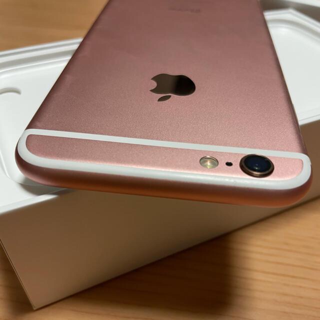 iPhone(アイフォーン)のiPhone6s 32G Rose Gold SIMロック解除 本体 スマホ/家電/カメラのスマートフォン/携帯電話(スマートフォン本体)の商品写真