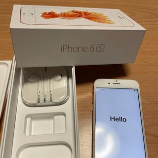 iPhone - iPhone6s 32G Rose Gold SIMロック解除 本体