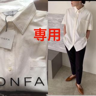 ドゥーズィエムクラス(DEUXIEME CLASSE)の専用 yonfa ヨンファ big box shirt ビッグボックスシャツ(シャツ/ブラウス(半袖/袖なし))