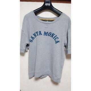 アバハウス(ABAHOUSE)の美品 ABAHOUSE(アバハウス) カットソー 7分袖 Lサイズ(Tシャツ/カットソー(半袖/袖なし))