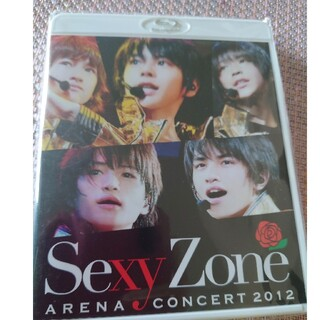 Sexy Zone - SexyZone アリーナコンサート2012(Blu-ray通常盤) Blu-