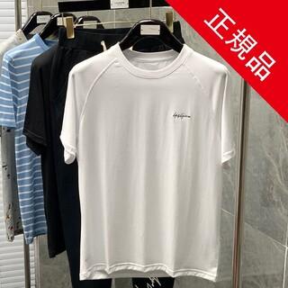 Y-3 - Y-3 ワイスリー ロゴブラック半袖Tシャツ男女兼用 正規品