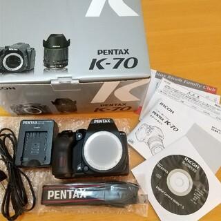 PENTAX - ペンタックスK-70  ボディー 新品同様!