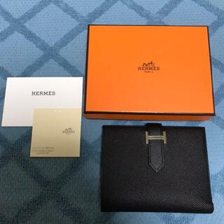 Hermes - HERMES エルメス ベアンコンパクト 財布