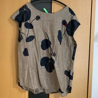 フォーティファイブアール(45R)のパラスパレス リネン ブラウス シャツ(シャツ/ブラウス(半袖/袖なし))