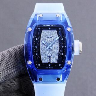 リシャールミル RM07-2 レディース 腕時計 自動巻き