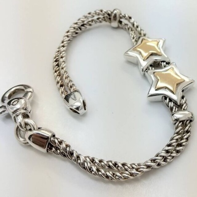 Tiffany & Co.(ティファニー)のティファニー ダブルロープ ダブルスター ブレスレット レディースのアクセサリー(ブレスレット/バングル)の商品写真