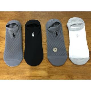 Ralph Lauren - 新品ポロラルフローレン メンズソックス 速乾性靴下 4足セット413