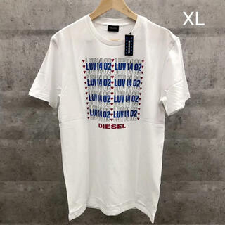 DIESEL - 新品未使用 DIESEL Tシャツ ホワイト XLサイズ