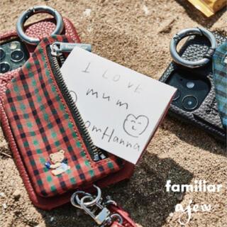 ファミリア(familiar)のファミリア×ajew iPhoneケース 12mini(iPhoneケース)