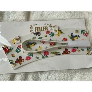 FEILER - 新品⭐︎フェイラー カップホルダー ハイジ ホワイト