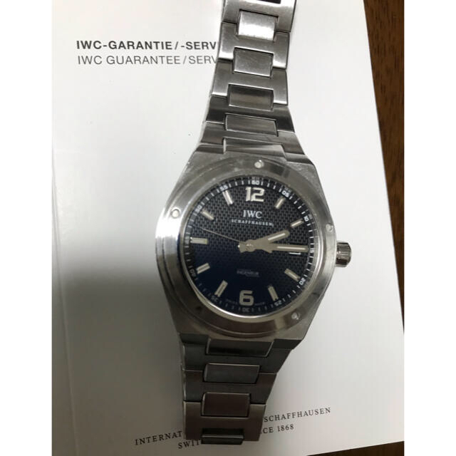 IWC(インターナショナルウォッチカンパニー)のIWC インヂュニア IW322701 ※期間限定でお値下げいたします。 メンズの時計(腕時計(アナログ))の商品写真