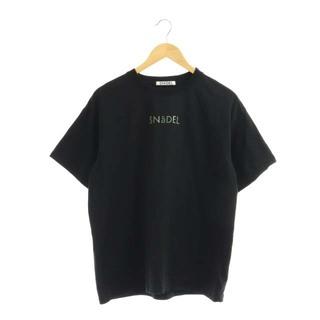 snidel - スナイデル 20AW フォイルプリントTシャツ カットソー ロゴ 七分袖