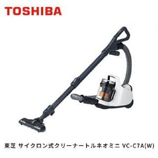 東芝 - 東芝(TOSHIBA) サイクロン式クリーナー トルネオミニ VC-C7A(W)