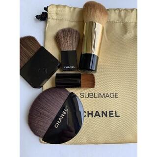 CHANEL - CHANEL化粧ブラシ5点セット