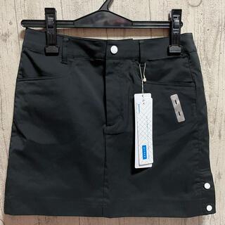 le coq sportif - 15,400円 ルコックゴルフ ストレッチスカート トリコロール ブラック 黒7