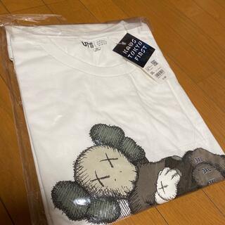 UNIQLO - ユニクロ カウズ kaws tシャツ コラボ 3XL 白 ホワイト tokyo
