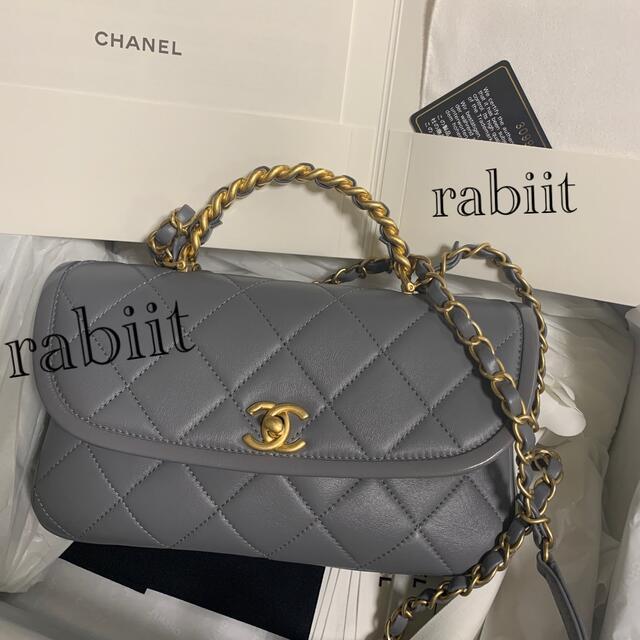 CHANEL(シャネル)のCHANEL ハンドルフラップバック 2021年購入💕 レディースのバッグ(ショルダーバッグ)の商品写真