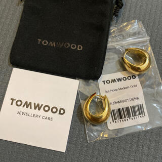 TOMORROWLAND - Tom wood トムウッド ice hoop ピアス M