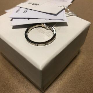 マルタンマルジェラ(Maison Martin Margiela)のMaison Margiela 11マルジェラ ナンバー スリムリング 指輪  (リング(指輪))