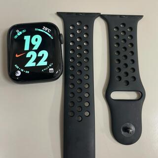 Apple Watch - 【美品】Apple Watch4 44mm GPS ナイキモデル