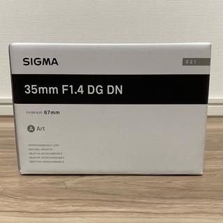 SIGMA - 新品 シグマ SIGMA 35mm F1.4 DG DN (Art)