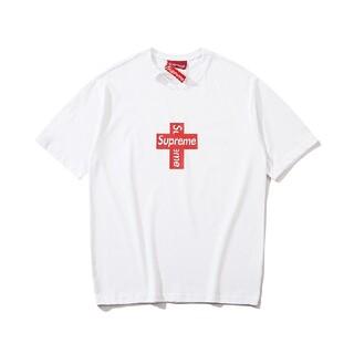 Supreme - 2枚8000円送料込み SUPERME ロゴ付き Tシャツ タグ付き新品 多色
