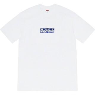 Supreme - 2枚8000円送料込み SUPERME ロゴ付き Tシャツ タグ付き新品 黒白