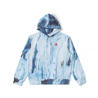 THE NORTH FACE - Supreme 21 SS TNF Ice Climb Hooded氷河登り。