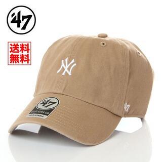 【新品】47 キャップ NY ニューヨーク ヤンキース 帽子 ベージュ