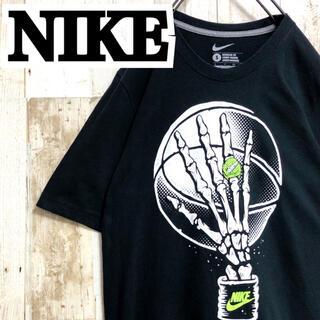 NIKE - 【ナイキ】【バスケット】【3on3】【ガイコツ.骨】【ビッグプリント】【Tシャツ