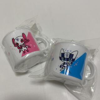 【未使用 未開封】 東京2020 オリンピック公式 食洗機対応 プラコップ 2個