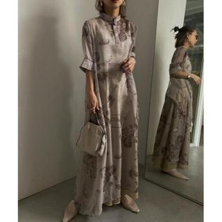 Ameri VINTAGE - ISLA PIPING SHEER DRESS