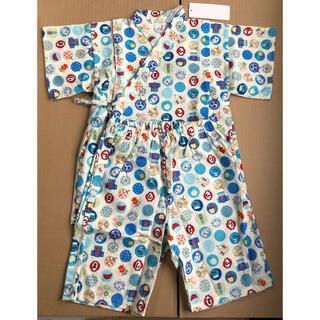 セール720→680円日本製男の子甚平 綿100% 110サイズ