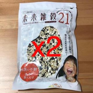 未来雑穀21+マンナン 460g x2 (米/穀物)