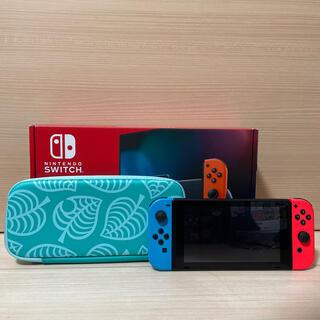 Nintendo Switch - 新型モデル 使用期間1ヶ月 Nintendo Switch 任天堂スイッチ 本体